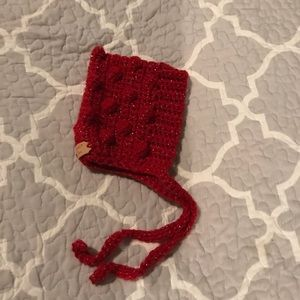 Other - Baby girl Christmas bonnet